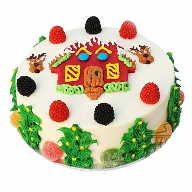 4Lbs Sweet Home Cake - Kitchen Cuisine