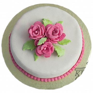 3Lbs Rose Twilight Cake - Kitchen Cuisine