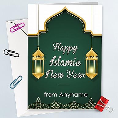 Islamic New Year-Personalised Card