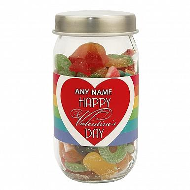 Valentines Day-Assorted Jellies Jar