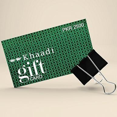 Khaadi Gift Card- Rs.2500