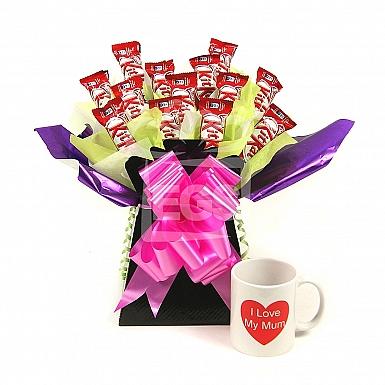 Kit Kat Bouquet For Mum