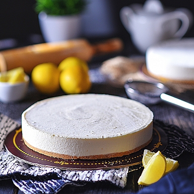 7 inches Lemon Cheese Cake from Delizia
