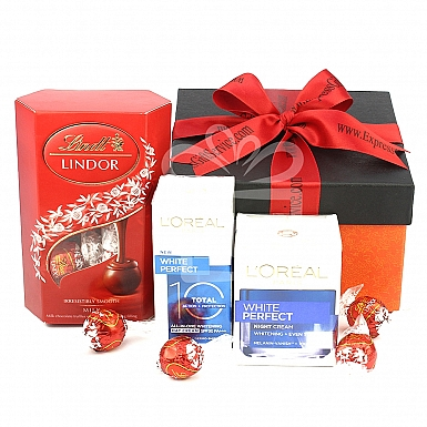Loreal and Lindt Hamper for Her
