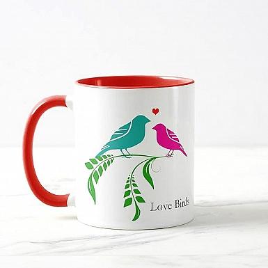 Love Birds-personalised Mug