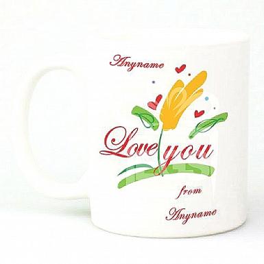 Love You-Personalised mug