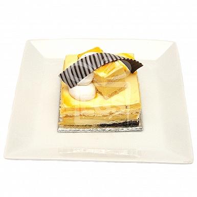 Mango Mousse Pastry - Serena Hotel