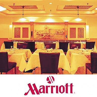 Marriott Restaurant Dinner for 3 Adult Persons