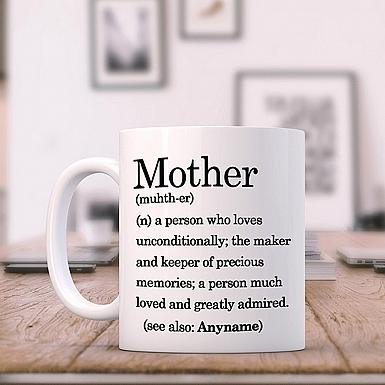 Mother Definition-Personalised Mug