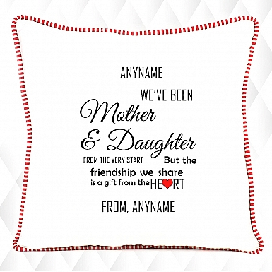 Mother & Daughter 's Friendship Cushion