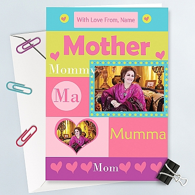 Mothers Day Special-Photo Card