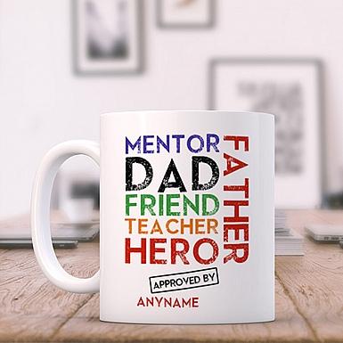 Multitalented Dad-Personalised Mug