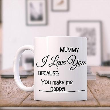 Mummy I Love You-Message Mug