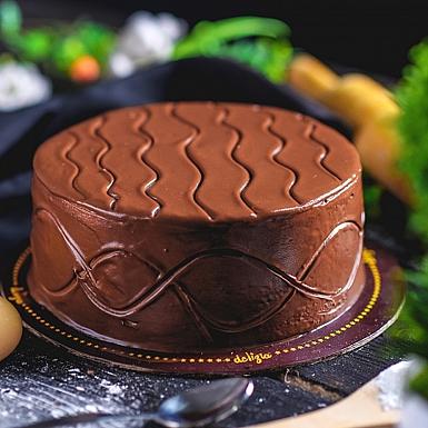 2.5 lbs Nutella Cake from Delizia