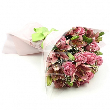 Pink Glory Bouquet