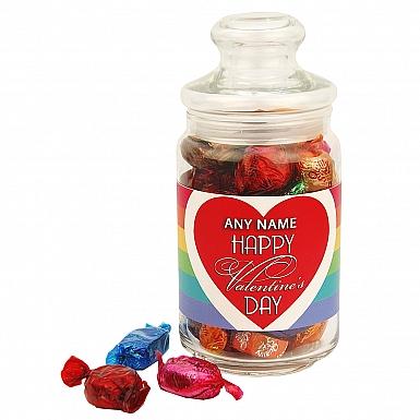 Happy Valentines-Quality Street Jar