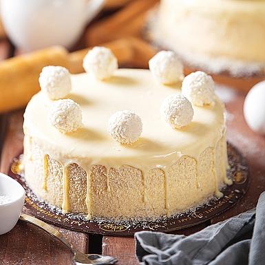 2.5 lbs Raffaello Cake from Delizia