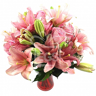 Rose Lily Duo