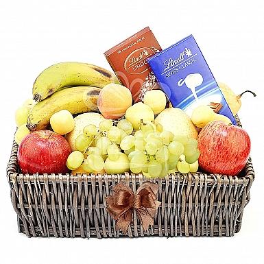 Ultimate Fruit and Chocolate Gift Basket