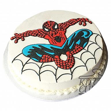 4Lbs Spiderman Cake - Kitchen Cuisine