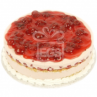 2Lbs Strawberry Mousse Cake - Victoria Lounge