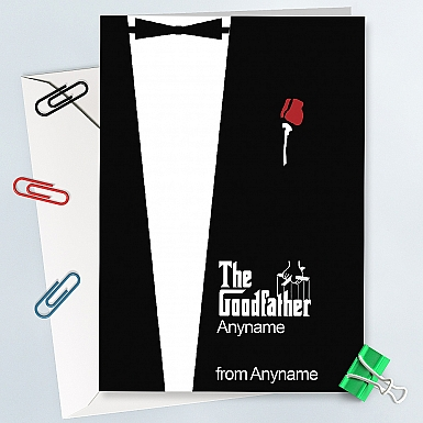 The Goodfather-Personalised Card