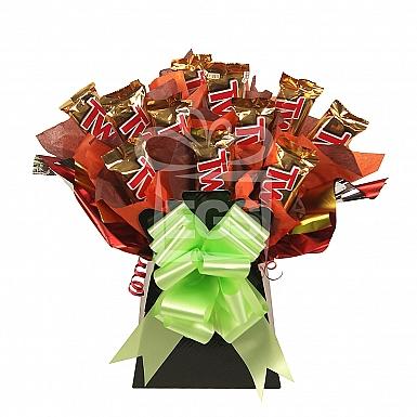 Twix Chocolate Bouquet