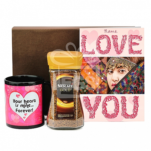 Valentine Coffee Lovers Hamper for Her