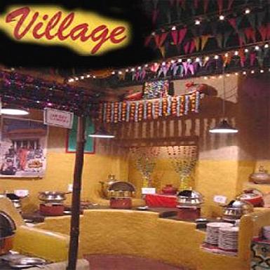 Village Restaurant Dinner for 4 Adult Persons