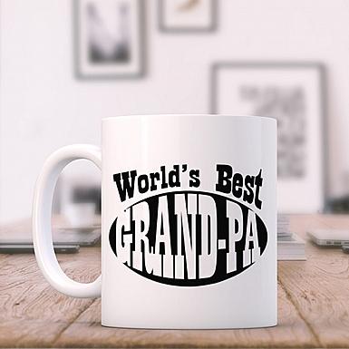 World's Best Grandpa-Personalised Mug