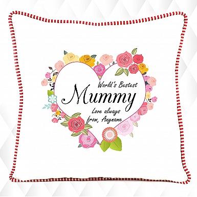 World's Bestest Mummy Cushion