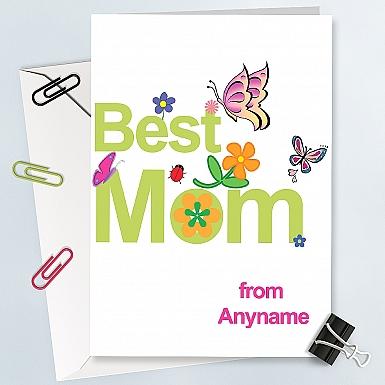 Best Mom Card - Personalised Card