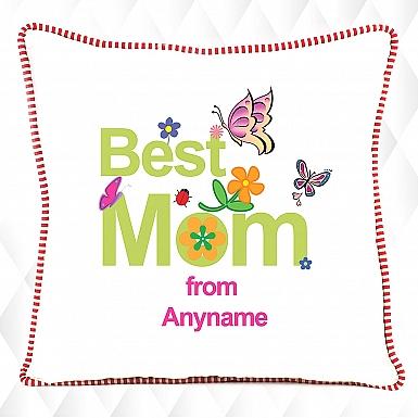 Best Mom - Personalised Cushion