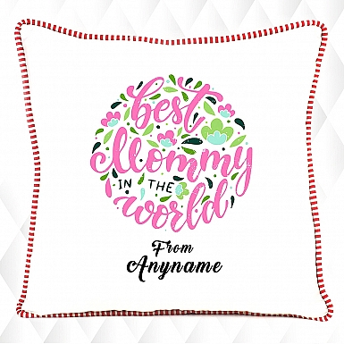 Best Mommy in the World- Personalised Cushion