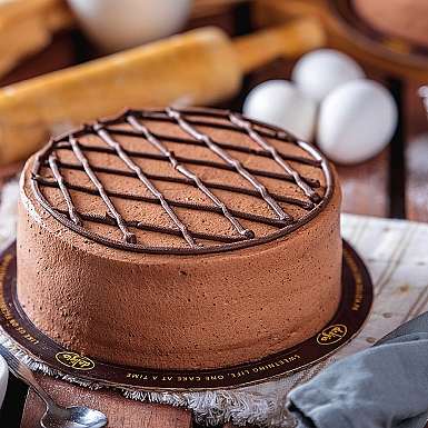 2.5 lbs Chocolate Mousse Cake from Delizia