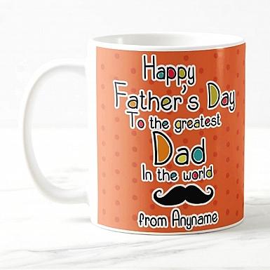 Greatest Dad - Personalised Mug
