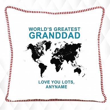 Greatest Granddad Personalised Cushion