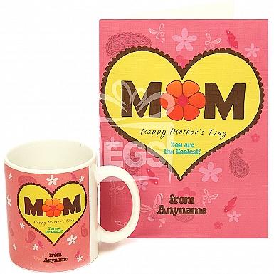 Happy Mothers Day Card + Mug