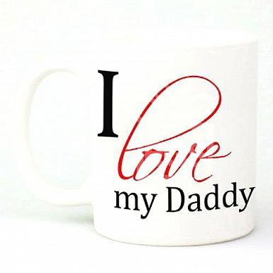 I Love My Daddy - Personalised Mugs