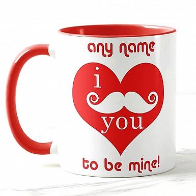 I Moustastic Love You - Personalised Mug
