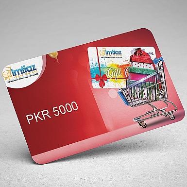 Imtiaz Super Market Gift Card-5000