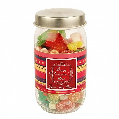 Valentines-Assorted Jellies Jar