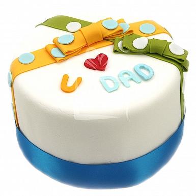 4Lbs Love You Dad Cake