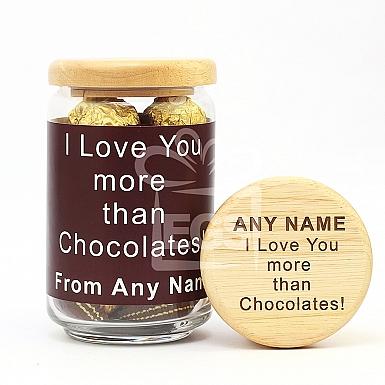 Love You-Engraved Jar