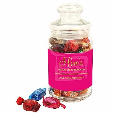 Mum's Favourite Chocolate-Quality Street Jar