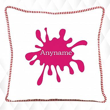 Paint Splatter-Kids Cushion