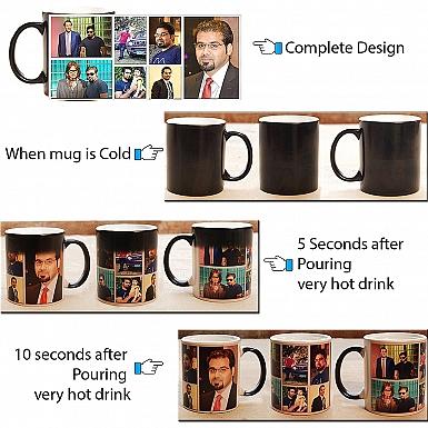 Photo Collage Magic Mug