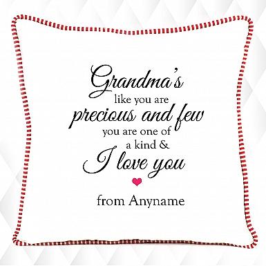Precious Grandma-Personalised Cushion