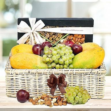 Summer Fruity & Nutty Delight