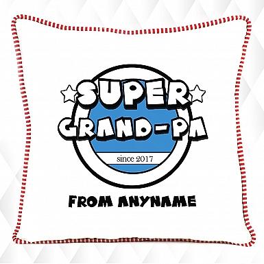 Super Grandpa-Personalised Cushion